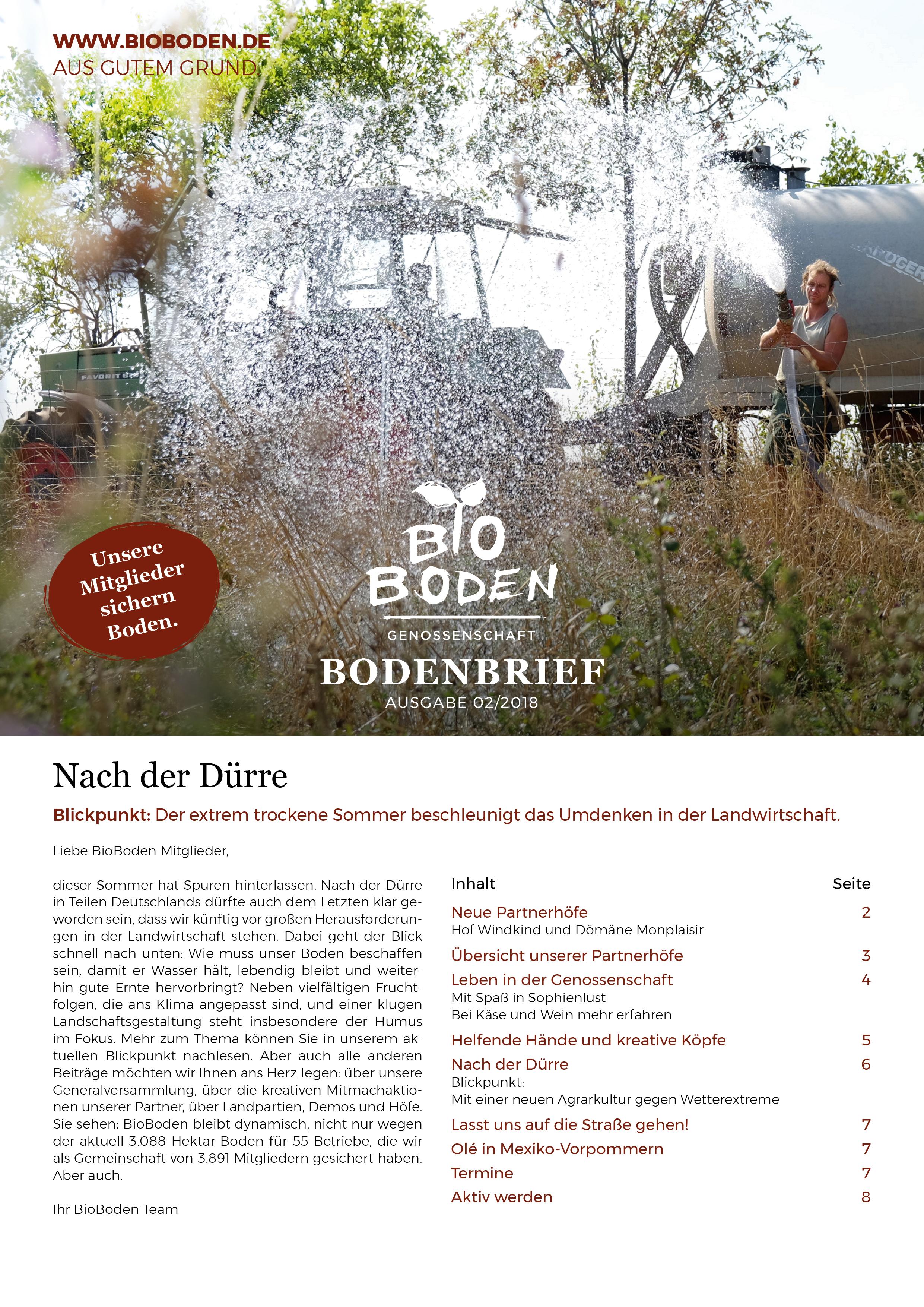 Bioboden Genossenschaft Startseite
